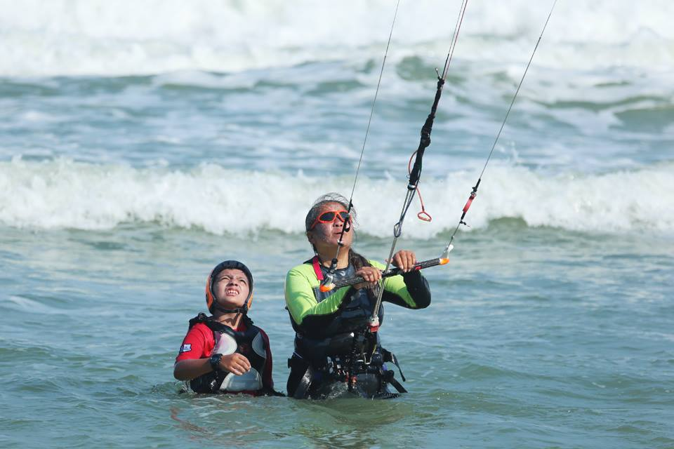 kite boarding huahin