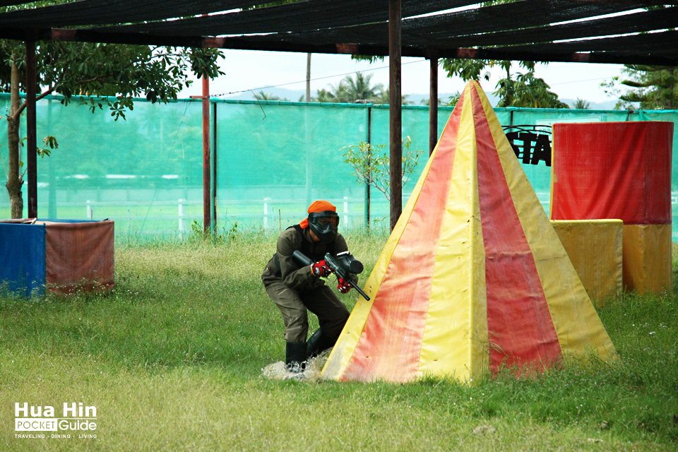 Cha Am ATV Paintball