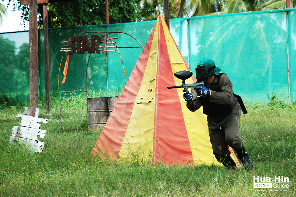 Cha Am ATV Paint Ball